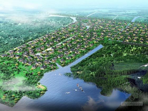 [苏州]某高尔夫别墅区规划方案文本