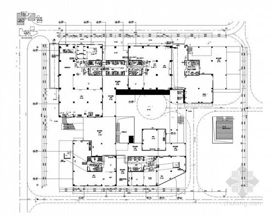 [廣東]經濟產業園高層綜合樓強弱電施工圖(2015年設計 新火規 甲級設計院)