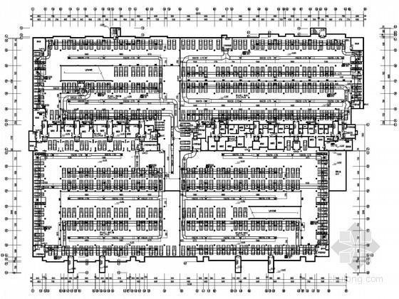[南京]住宅小区地下室通风防排烟设计施工图