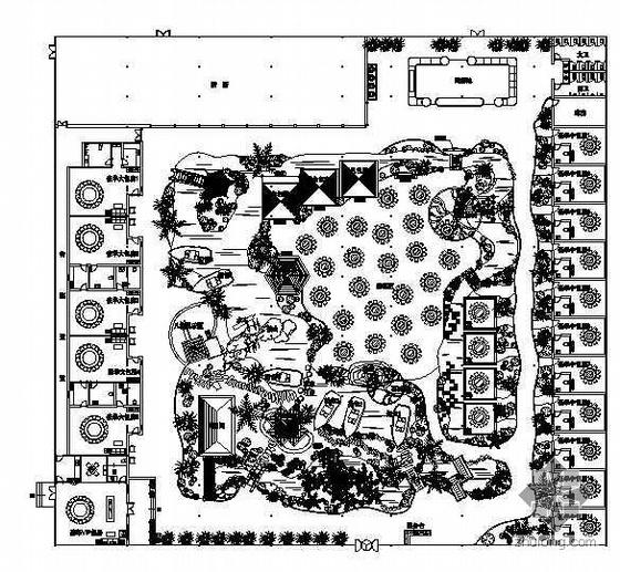怀柔生态园整体施工图