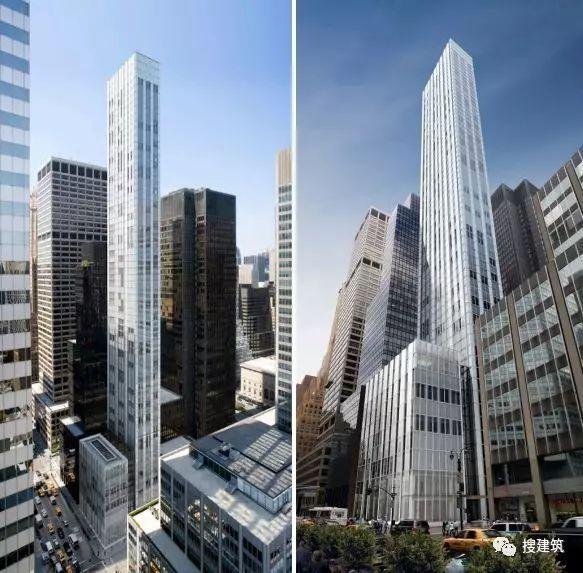 """万科在纽约开发的""""新地标住宅"""",高200米,1000-1600平方英尺的_4"""