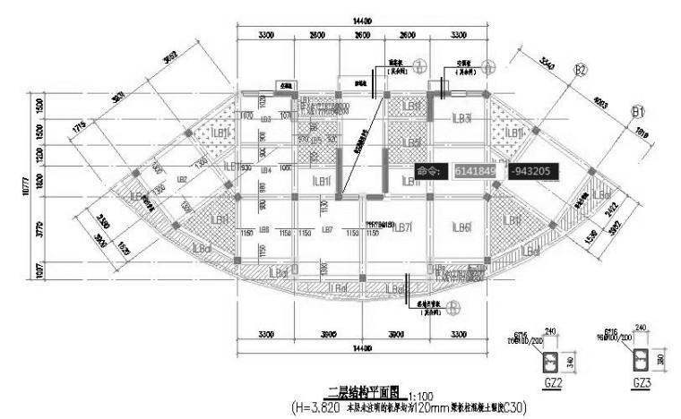 [四川]1257平米住宅楼清单预算书(图纸、控制价、投标价、清单)