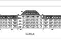 欧式多层办公楼建设初设图CAD