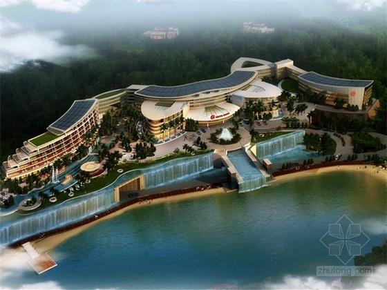 [合集]3套传统中式风格五星级酒店建筑设计方案文本