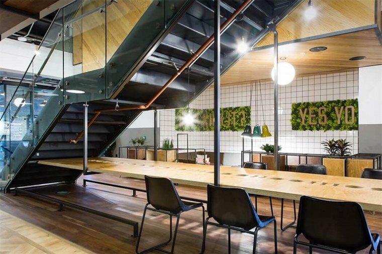 咖啡厅风格的联合办公空间-帕丁顿区WEWORK联合办公室室内实景图