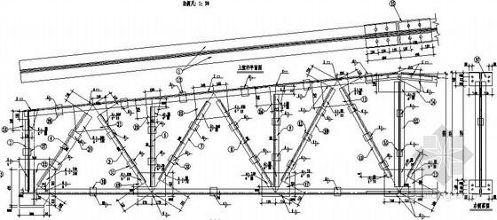 [学士]普通钢屋架课程设计图