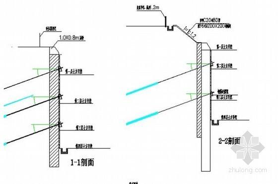 [广东]深基坑钻孔桩加预应力锚索支护施工方案
