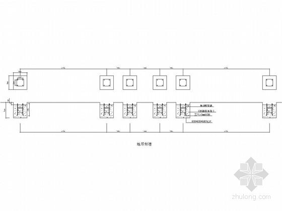 两大一小不锈钢候车亭钢结构施工图
