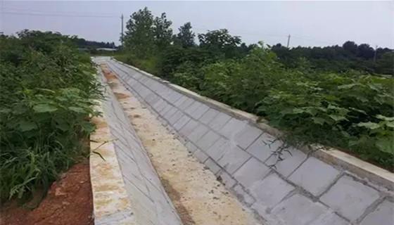 简述农田水利灌溉管道铺设工程技术