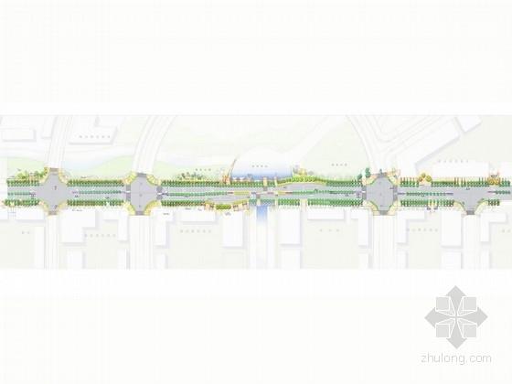 [广东]低碳生态道路景观概设方案