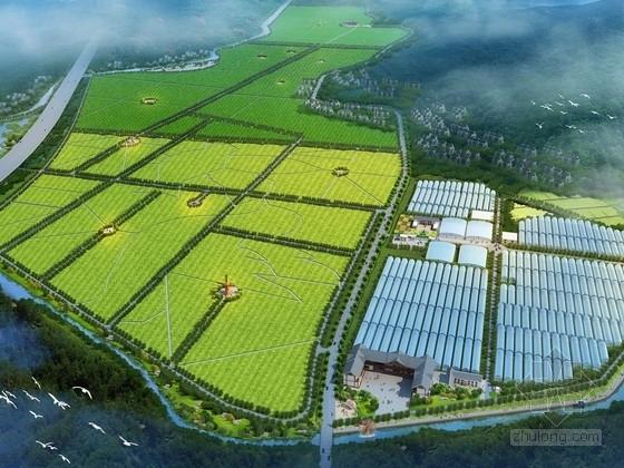 [广西]现代农业观光示范区景观规划设计方案