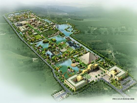 [云南]伊斯兰风情旅游城规划设计方案
