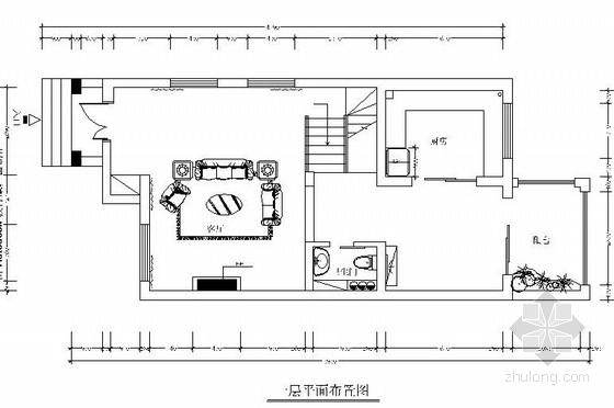 [上海]中式别墅方案设计施工图(含效果图)