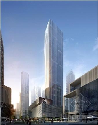[天津]54层筒中筒结构商务起步区大楼结构施工图(含附楼、裙房)