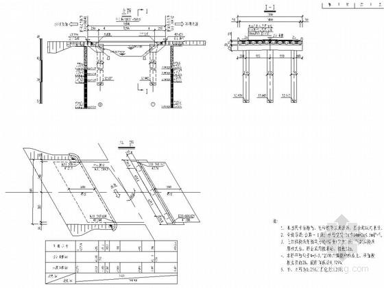 1x13m预应力混凝土后张法简支T梁设计套图(34张)