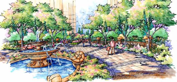 [长春]城市贸易中心公园景观住宅景观规划设计方案_2