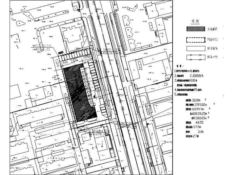 [北京]某老年活动中心建筑施工图