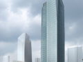 [上海]超高层玻璃幕墙现代风格办公建筑设计方案文本