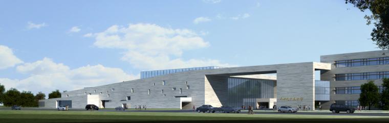 天津市西青区中学建筑设计法方案文本