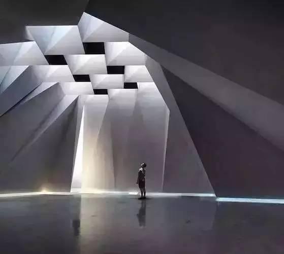 建筑空间的光影艺术美