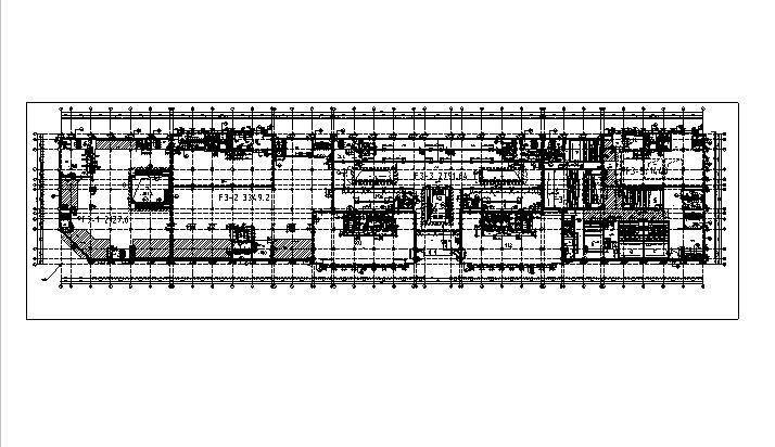 [内蒙古]高层框架结构办公、公寓及商业餐饮建筑施工图_7