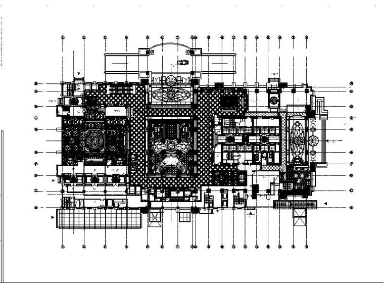 [江苏]一套完整的酒店平面概念设计方案(含效果图)