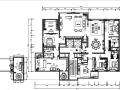 [北京]详细全套新中式样板间施工图(含效果图、材料表)