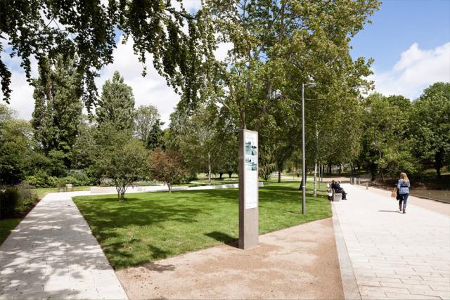 8-英国斯蒂夫尼奇镇中心花园kok第8张图片