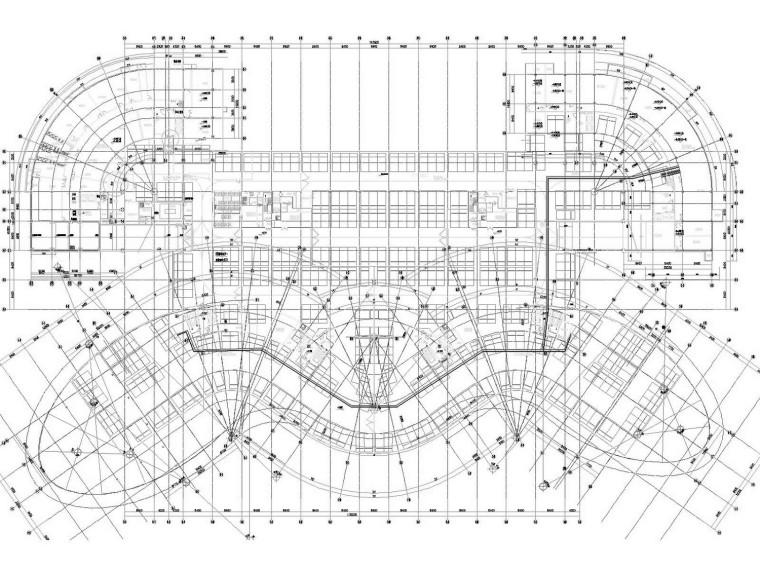 [甘肃]大型产业园办公区空调通风系统施工图(大院出品、制冷机房)