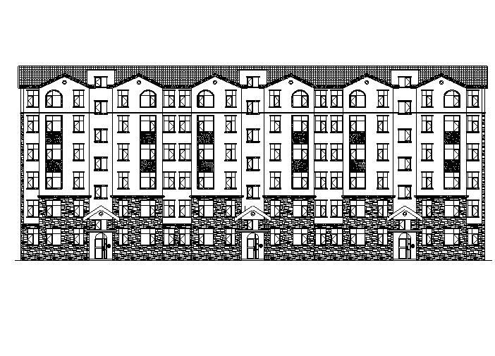 [宁夏]多层框架剪力墙结构住宅及建筑施工图(含全专业及效果图)