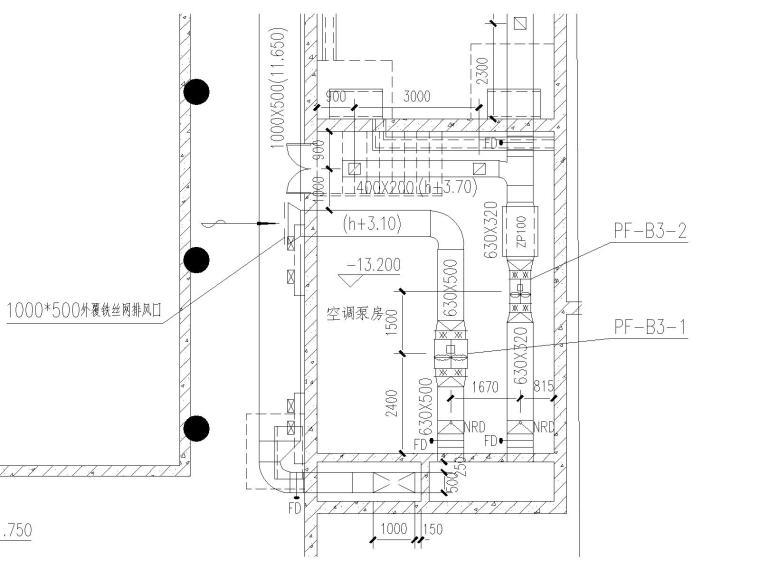 全热交换器新风管施工资料下载-[山东]济南岱宗大街西段路南建筑物内的采暖、通风、空调设计施工图