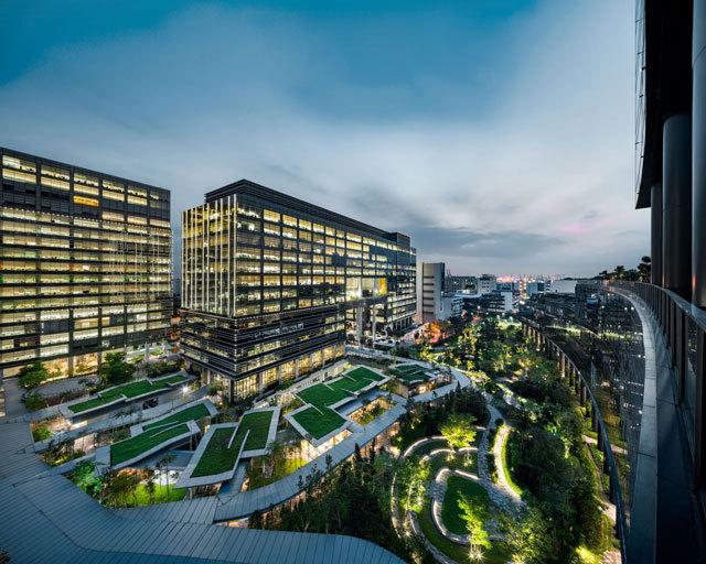 1-新加坡Comtech商业园区景观设计第1张图片
