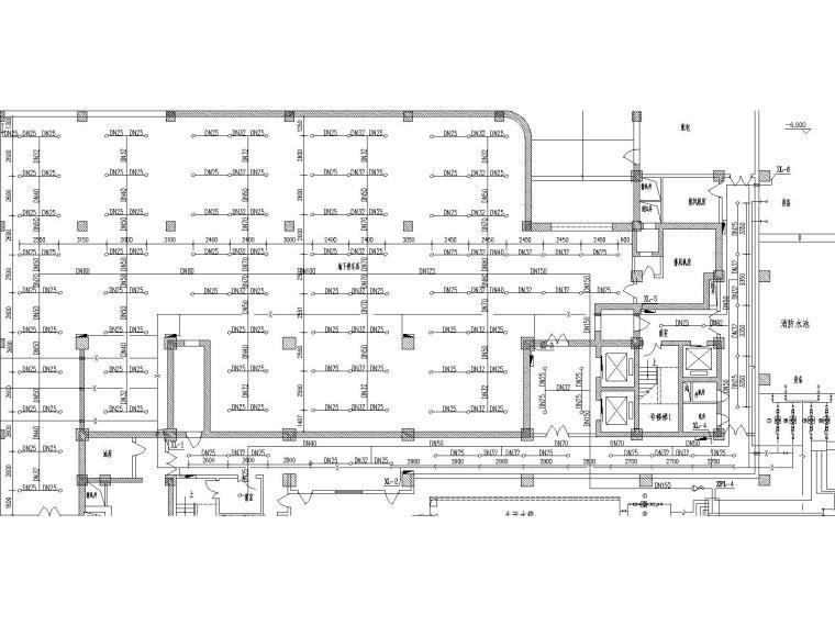 [河南]郑州飞虹大厦给水排水及消防系统毕业设计(含设计说明书和多张轴测图)