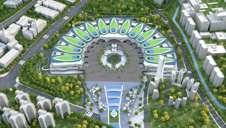 [云南]国际会展中心项目大跨度钢结构施工交流汇报PPT(54页)