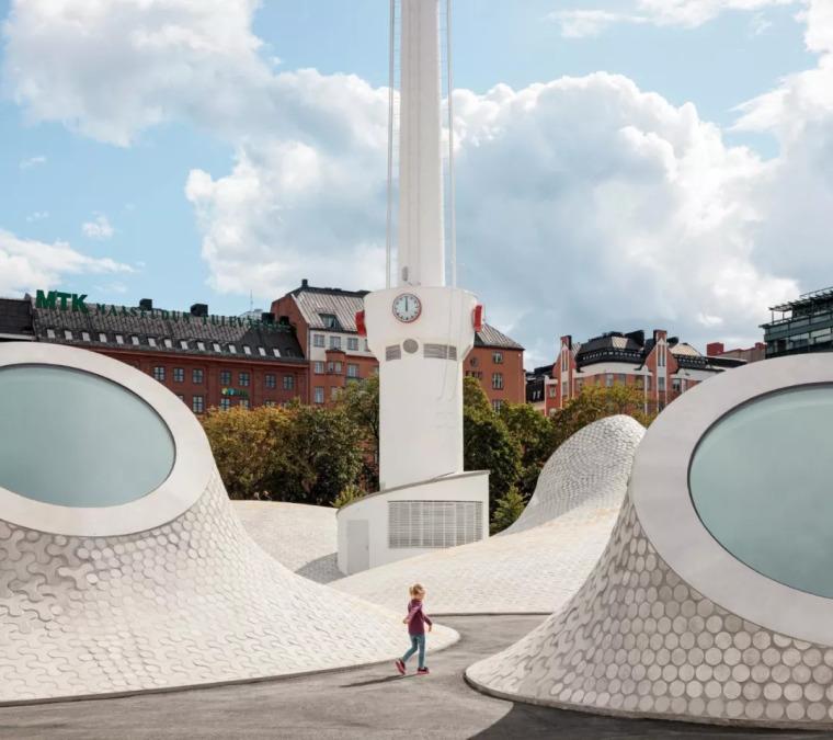 """BBC 2018欧洲最创新建筑,梦幻般的芬兰赫尔辛基""""月球""""博物馆"""
