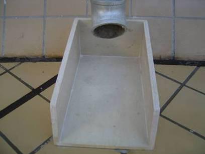 建筑施工屋面工程细部节点工艺-屋面水簸箕做法