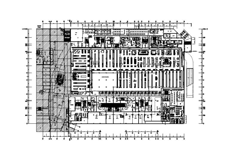 合肥百货商场二次装修电气施工图