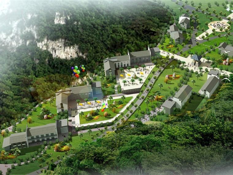 柳州市马鹿山公园景观总体规划