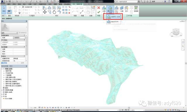 Civil3D地形导入Revit的方法_19