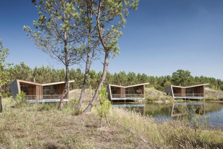 法国风景如画的生态酒店