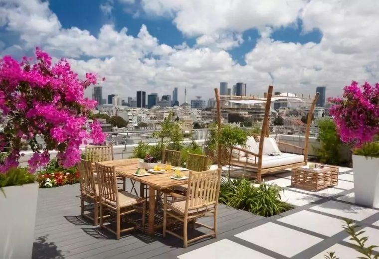 屋顶花园露台设计
