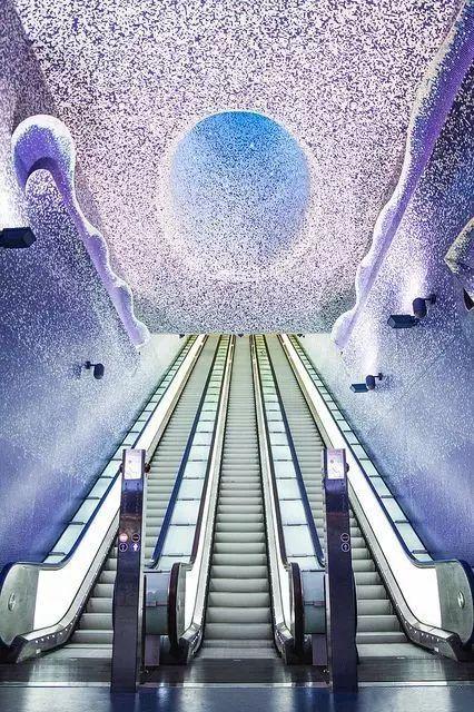 世界最美地铁景观,美到让你不想回家_63