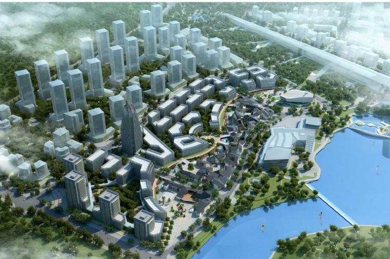 [山东]济南国际文化创意产业区规划设计方案