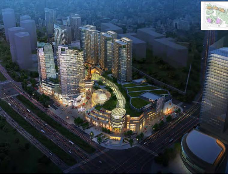 [湖南]长沙德思勒城市广场商业综合体方案文本PDF(140张)