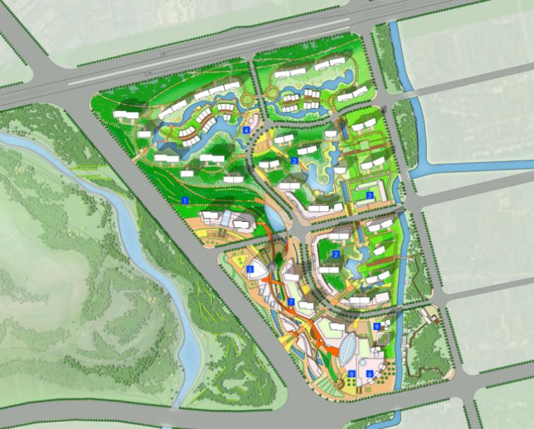 [浙江]无锡太湖新城概念性总体城市规划设计方案文本-HOK