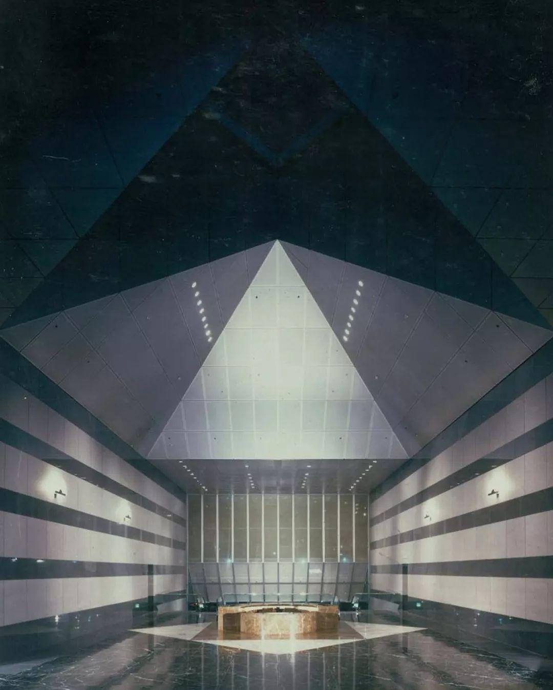 致敬贝聿铭:世界上最会用「三角形」的建筑大师_56