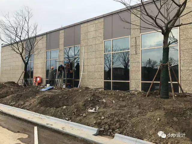 解析|外墙干挂石材幕墙标准化施工流程!_13