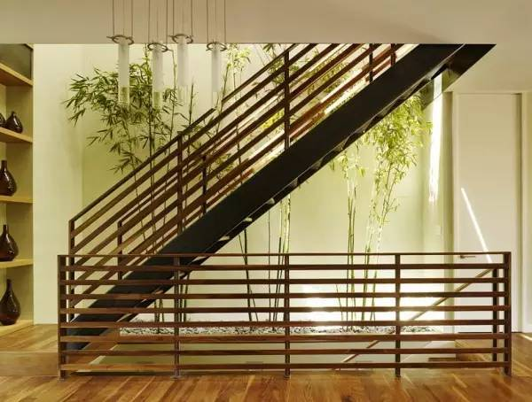 室内绿化景观,不一样的室内花园|芦苇分享