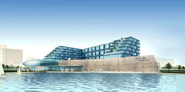 [合集]五套五星级酒店建筑方案文本(新中式及现代设计)_8