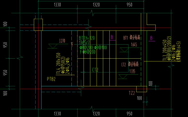 洋房图纸柱梁板楼图全图_3